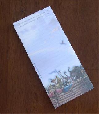 Tom duBois Promise Magnetic Notepad