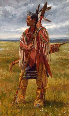 James Ayers Protectors of the Plaines Giclee on Paper