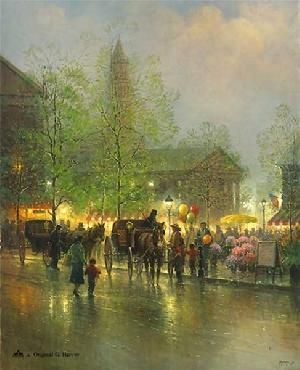 G. Harvey Quincy Market Artist