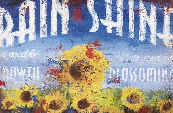 Rodney White Rain and Shine Giclee on Paper