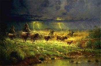 G. Harvey Rawhide and Thunder Canvas