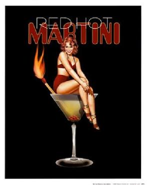 Ralph Burch Red Hot Martini