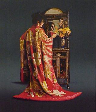 Douglas Hofmann Red Kimono
