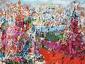 Leroy Neiman Red Square Panorama