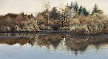 Lee Bogle Reflections Giclee on Canvas