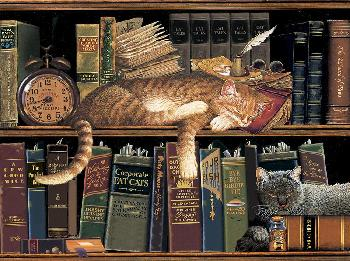 Charles Wysocki Remington the Well Read Open Edition on Paper