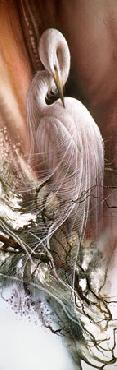 Lee Bogle Repose Giclee on Paper