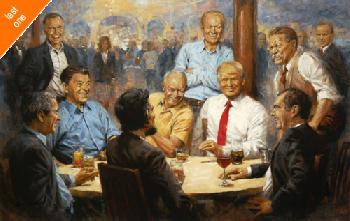 Andy Thomas Republican Club Donald Trump Artist