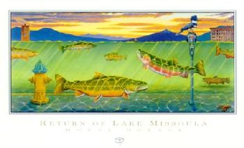 Monte Dolack Return of Lake Missoula