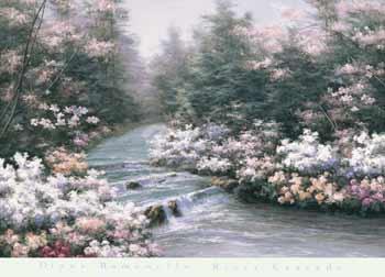 Diane Romanello River Cascade