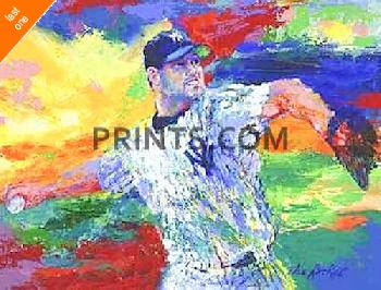 LeRoy Neiman Rocket - Roger Clemens Hand Signed by LeRoy Neiman Last One!