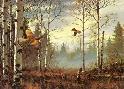 David Maass Ruffed Grouse In Autumn
