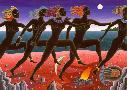 Thomas McKnight Running Nubians
