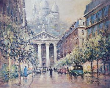 L. Gordon Sacre Coeur Basilica, Paris