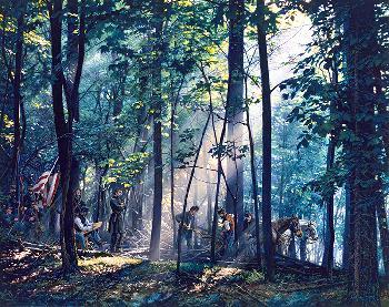 John Paul Strain Sacred Ground on Little Round Top Studio Giclee on Canvas
