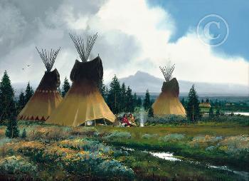John Paul Strain Sage Creek Encampment