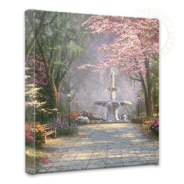 Thomas Kinkade Savannah Romance Open Edition Wrapped Canvas