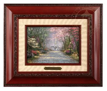 Thomas Kinkade Savannah Romance Brushwork Brandy Frame