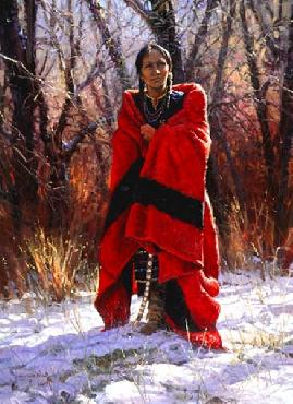 Martin Grelle The Scarlet Robe Signed Open Edition on Paper