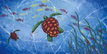 John Donato Sea Turtle Giclee on Canvas