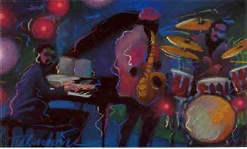 James Talmadge Shades of Blue Artist