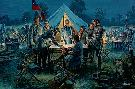 Mort Kunstler Sharpsburg War Council