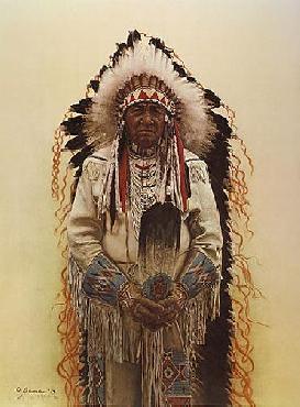 James Bama Shoshone Chief