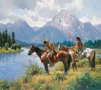 Martin Grelle Signs Along the Snake Signed Open Edition on Paper