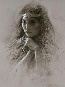 Lee Bogle Silent Thoughts Giclee on Paper