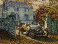 Mort Kunstler Silver Ghost, Autumn Leaves