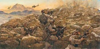 James Dietz Sky Soldiers in Combat Artist