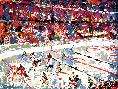 LeRoy Neiman Slap Shot