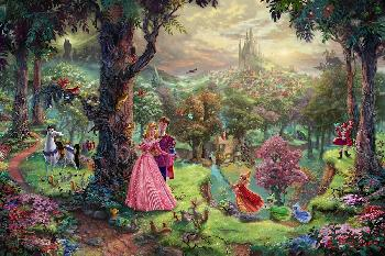 Thomas Kinkade Sleeping Beauty Publisher