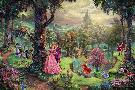 Thomas Kinkade Sleeping Beauty