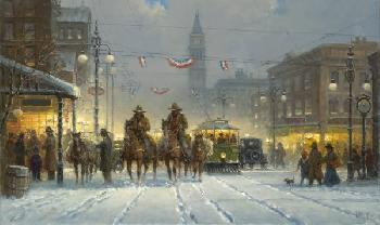 G. Harvey Snowy Tracks Artist