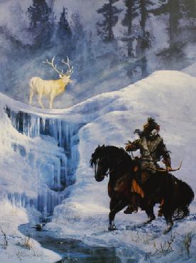 Hermon Adams Spirit Elk