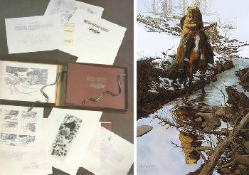 Bev Doolittle Spirit of the Grizzly WSS From Where Silence Speaks Set 1986