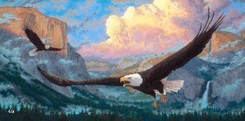 Zachary Kinkade Spirit of Yosemite SN Canvas