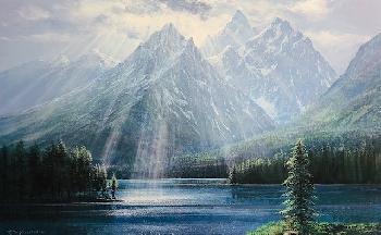 Peter Ellenshaw Splendor of the Teton