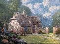 Thomas Kinkade Spring at Stonegate