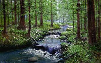 Peter Ellenshaw Spring Serenity
