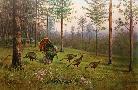 Owen Gromme Springtime Enchantement - Wild Turkeys