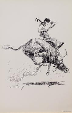 Charles Russell Steer Rider