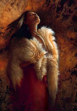 Lee Bogle Stirring of the Soul Giclee on Canvas