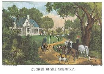 Currier and Ives Summer in the Country