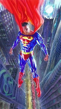 Alex Ross Superman - Man of Tomorrow Giclee on Canvas