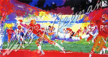Leroy Neiman Super Play Hand Pulled Serigraph