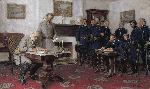 Tom Lovell Surrender at Appomattox