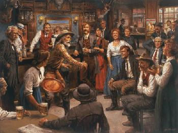 Andy Thomas Tales of the Old West Artist