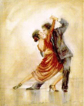 Lena Liu Tango Canvas